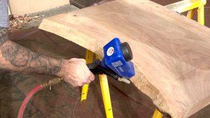sabler du bois