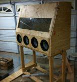 construire une cabine de sablage