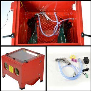 test cabine de sablage Metalworks